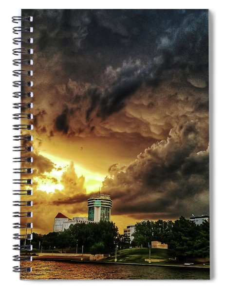 Ict Storm - From Smrt-phn Spiral Notebook
