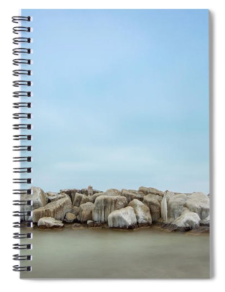 Icy Morning Spiral Notebook
