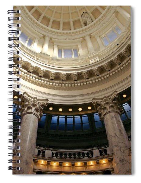 Idaho Capitol Half Dome Spiral Notebook