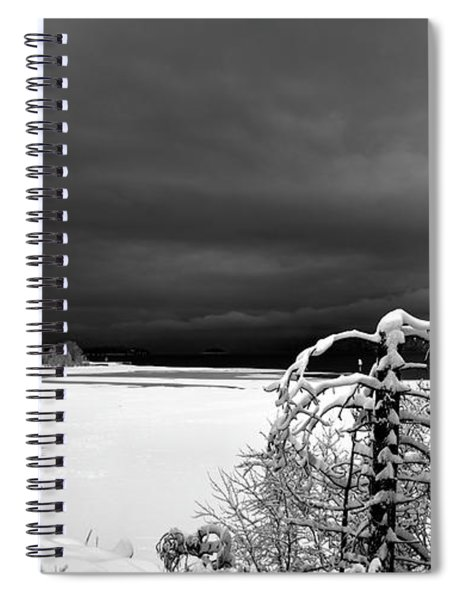 Idaho Winter  Spiral Notebook