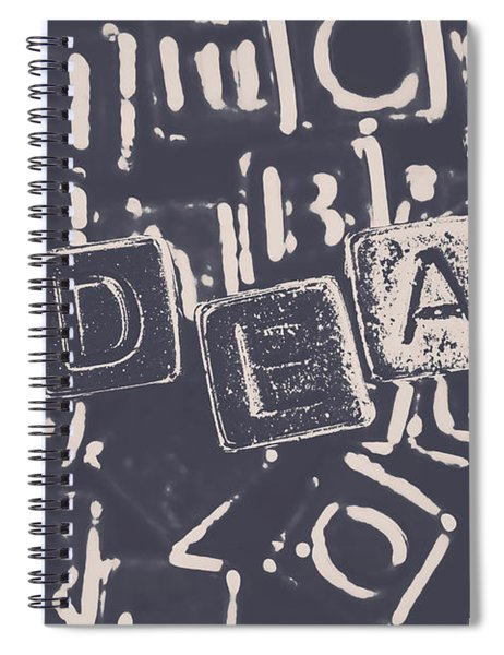 Idea Blocks Spiral Notebook