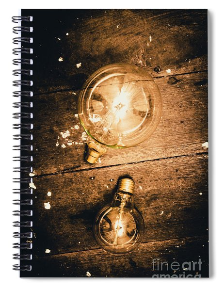 Ideas Evolution Spiral Notebook