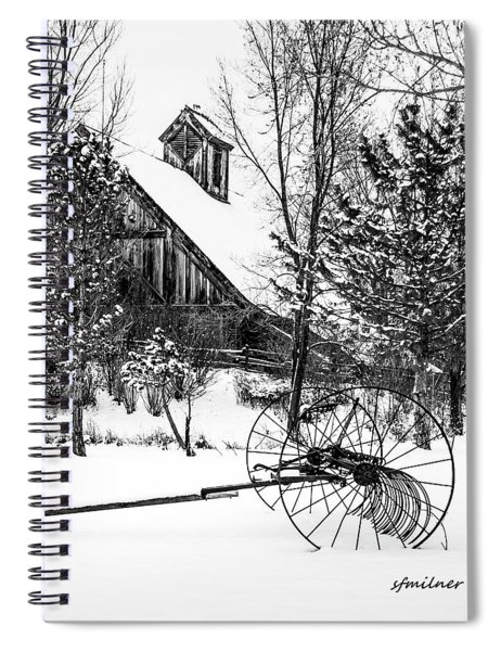Idle Time - Waiting For Spring Spiral Notebook