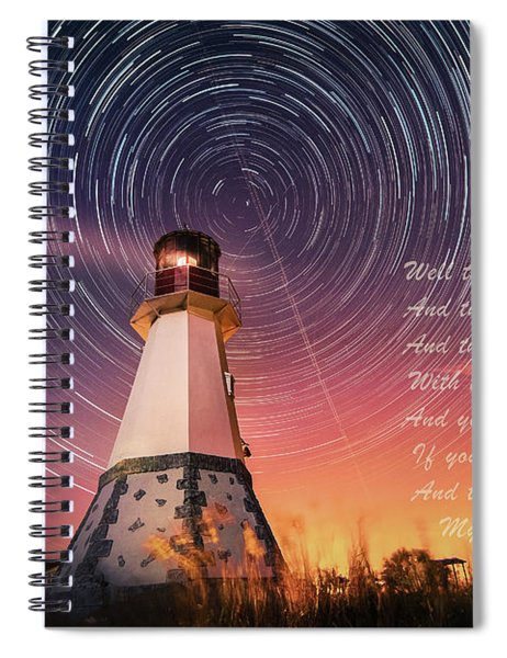 If You Close Your Eyes Spiral Notebook