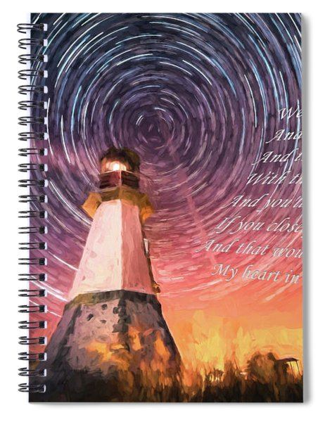 If You Close Your Eyes Too Spiral Notebook