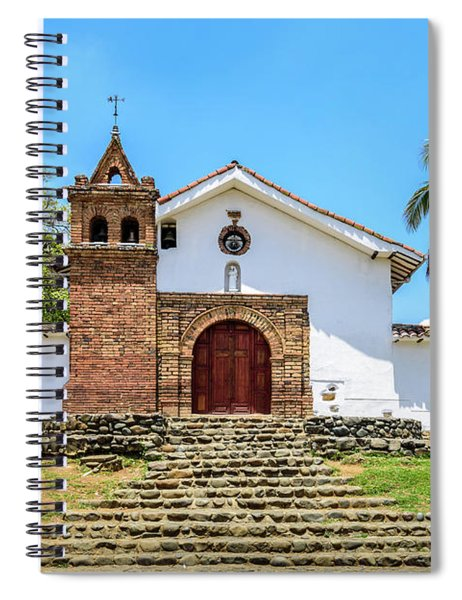 Iglesia De San Antonio Spiral Notebook