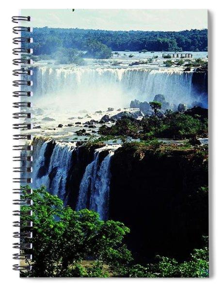 Iguacu Waterfalls Spiral Notebook