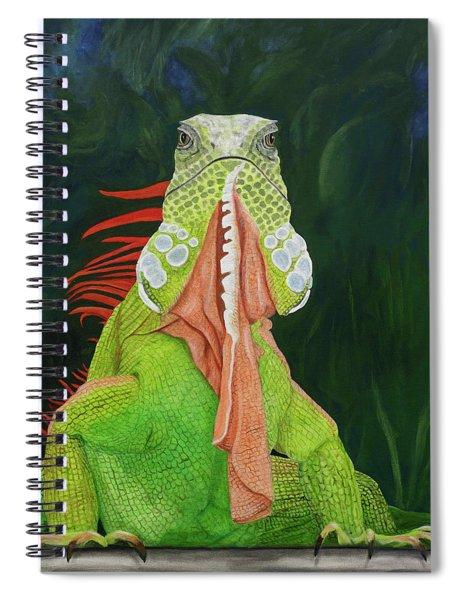 Iguana Dude Spiral Notebook
