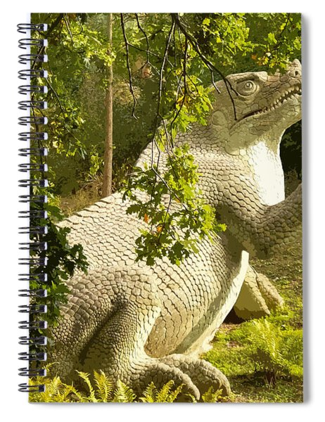 Iguanodon Pose Spiral Notebook