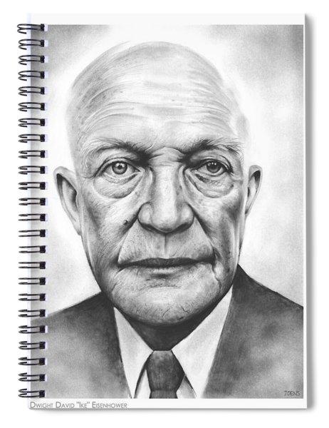 Ike Spiral Notebook