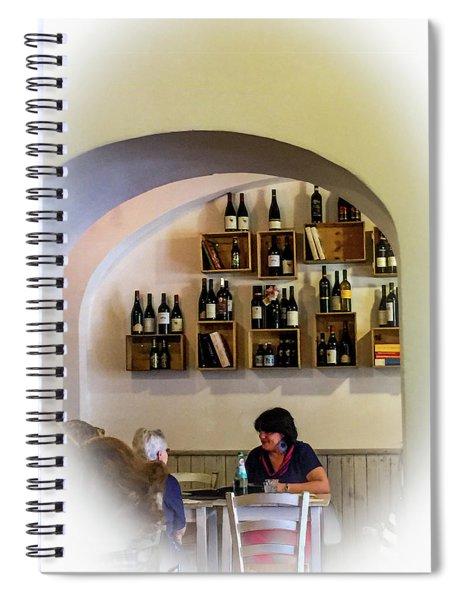 Il Bocconcino Ristorante Spiral Notebook