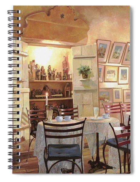 Il Caffe Dell'armadio Spiral Notebook
