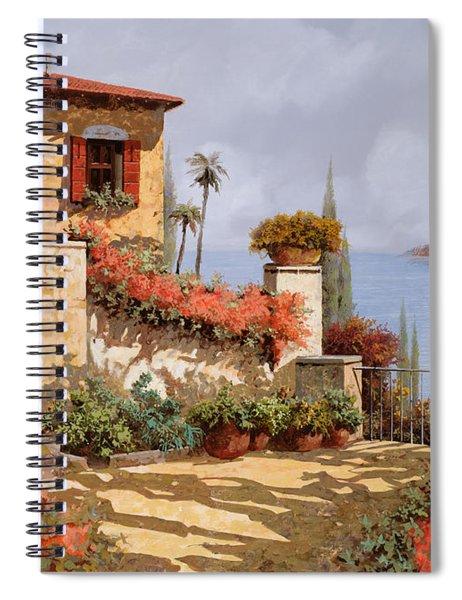 Il Giardino Rosso Spiral Notebook