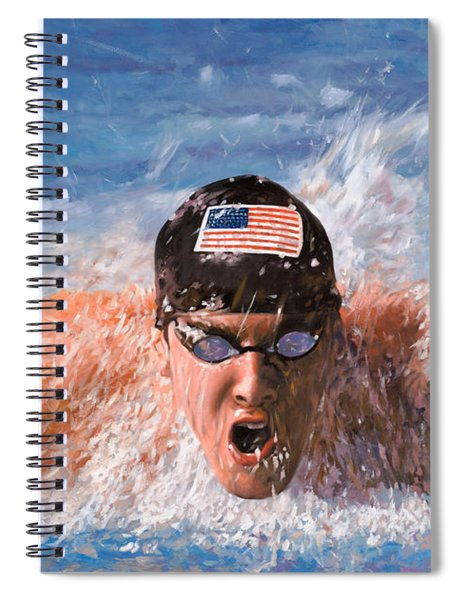 Il Nuotatore Spiral Notebook
