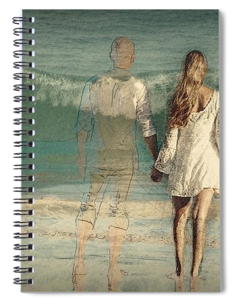 I'll Always Be Beside You Spiral Notebook