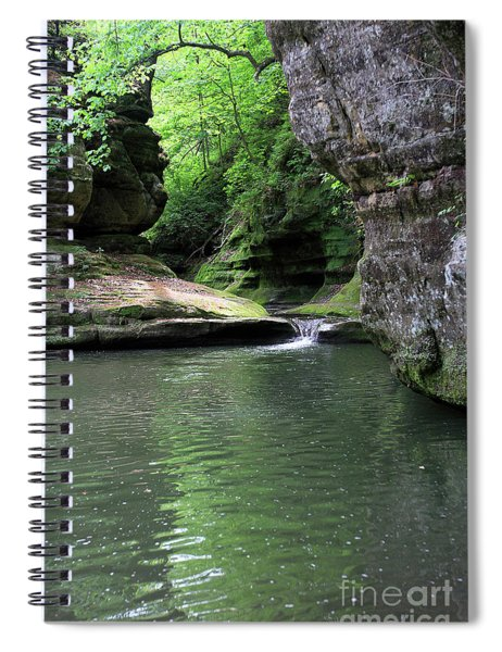 Illinois Canyon Summer Spiral Notebook