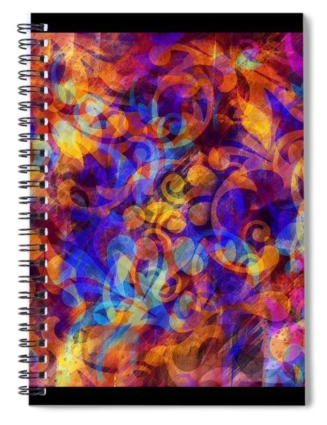 Illucid Presence Spiral Notebook