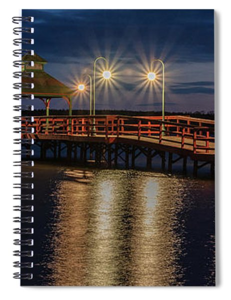 Spiral Notebook featuring the photograph Illuminated by Rod Best