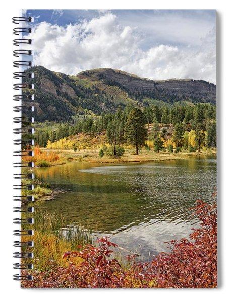 Illuminating Autumn Spiral Notebook
