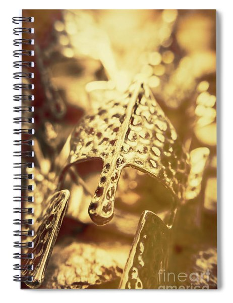 Illuminating The Dark Ages Spiral Notebook