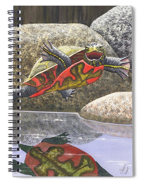 Im Flying Spiral Notebook