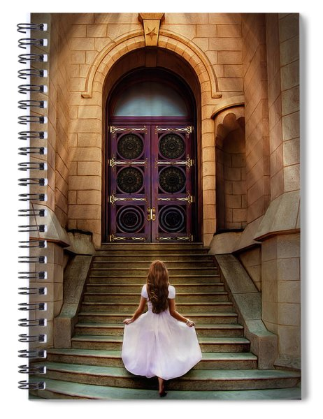 I'm Going There Some Day Spiral Notebook