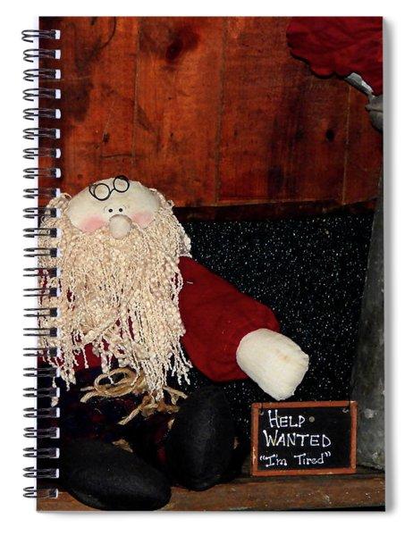 I'm Tired Spiral Notebook