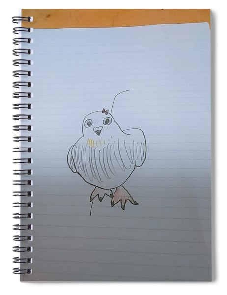 Image Diagram Spiral Notebook