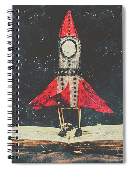 Imagination Is A Space Of Learning Fun Spiral Notebook