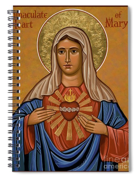 Immaculate Heart Of Mary - Jcimm Spiral Notebook