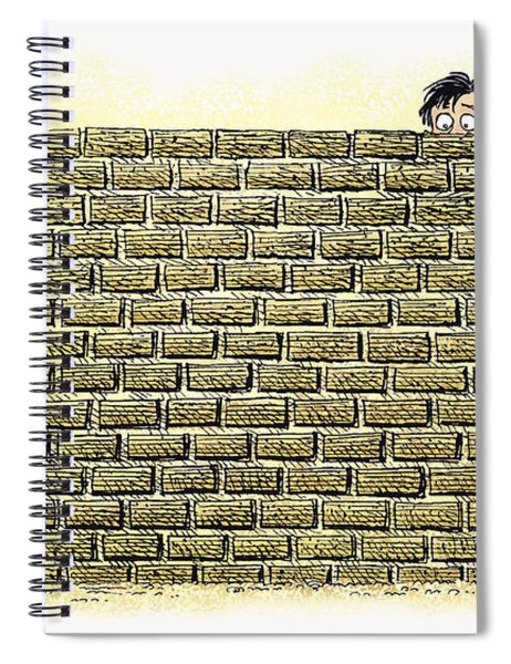 Immigrant Kids At The Border Spiral Notebook