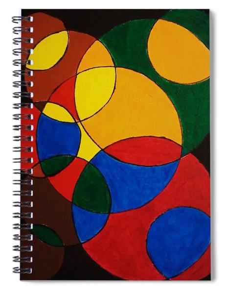 Imperfect Circles Spiral Notebook