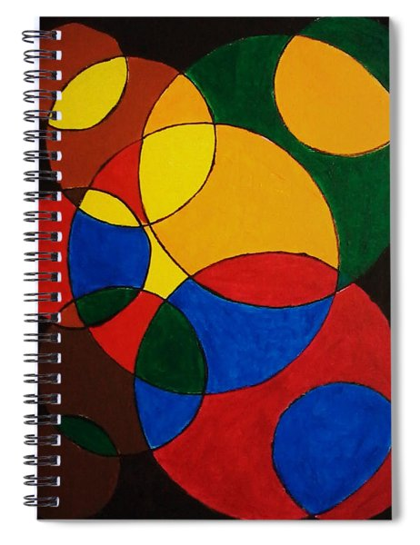 Imperfect Circles Spiral Notebook