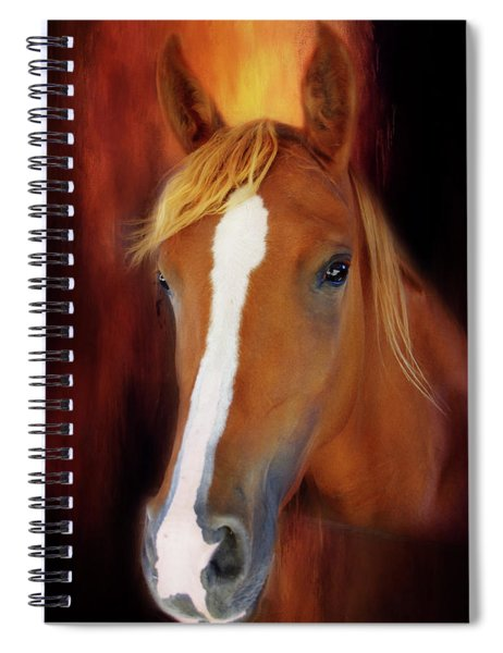 Imperial Pose Spiral Notebook