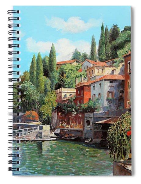 Impressioni Del Lago Spiral Notebook