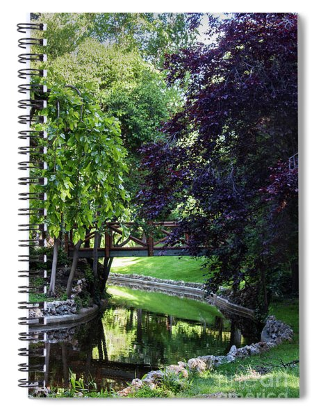 Impressionist Reminiscence  Spiral Notebook