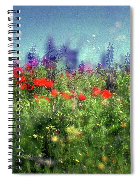 Impressionistic Springtime Spiral Notebook