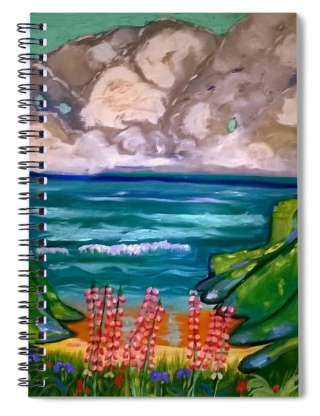 Impressions Of Brandy Cove  Spiral Notebook