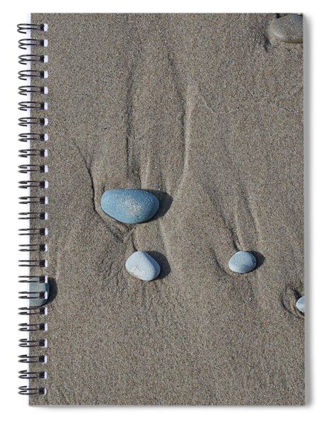 Imprints Of Waves II Spiral Notebook