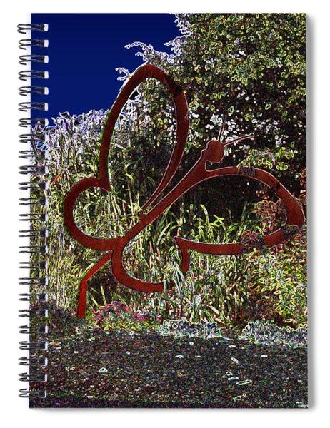 In A Gadda Da Vida Spiral Notebook