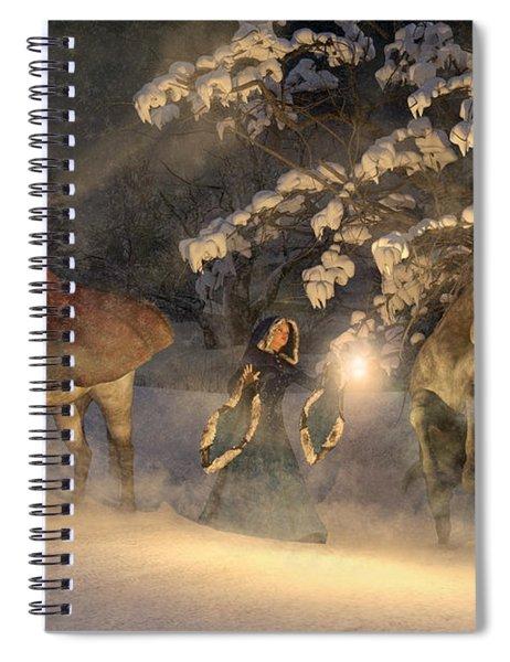 In A Land Far Far Away Spiral Notebook