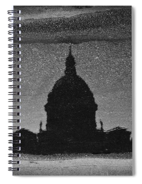 In A Puddle Spiral Notebook