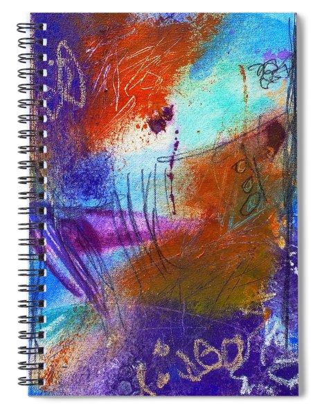 In A Summer Sky Spiral Notebook