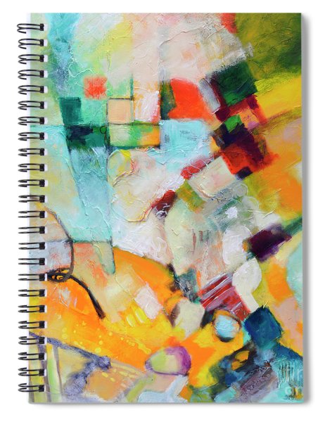 In And Out Spiral Notebook