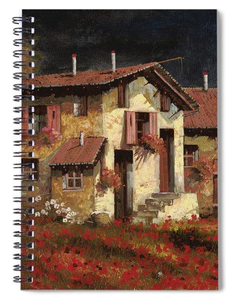 In Campagna La Sera Spiral Notebook