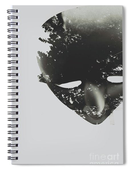 In Creation Of Thought  Spiral Notebook