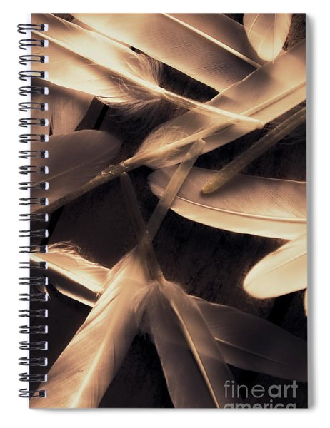 In Delicate Forms Spiral Notebook