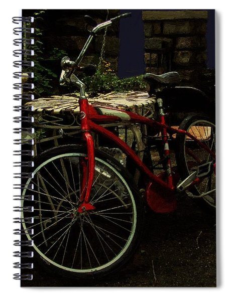 In For The Night Spiral Notebook