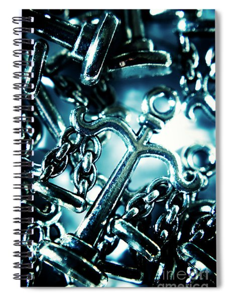 In Liberty Of Justice Spiral Notebook