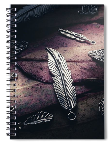 In Light Of Nature Icons Spiral Notebook
